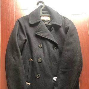 New SPIEWAK & SONS Mens Wool Pea Coat